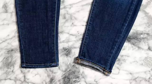 还在穿紧身裤?今年翻边牛仔裤才最火! 服饰潮流 图22
