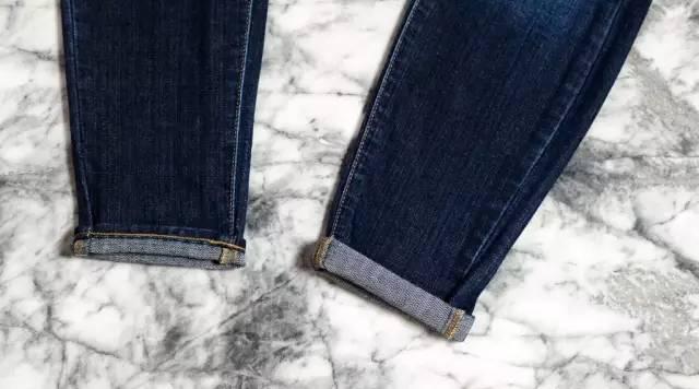 还在穿紧身裤?今年翻边牛仔裤才最火! 服饰潮流 图23