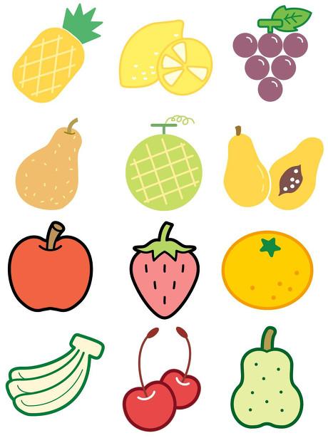 幼儿园水果简笔画教程,好诱人