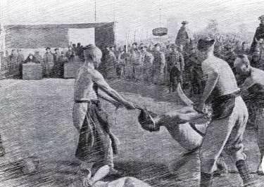 残忍的旧中国斩首行刑老照片 古代砍头刑场实拍