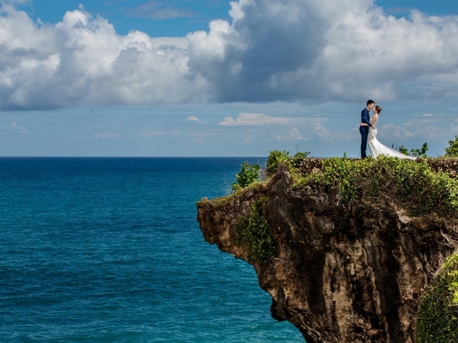 去巴厘岛拍婚纱照,情人涯的效果好不好?