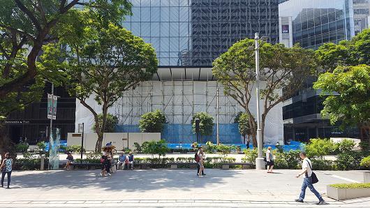 东南亚首家苹果AppleStore预计5月份在新加坡开业