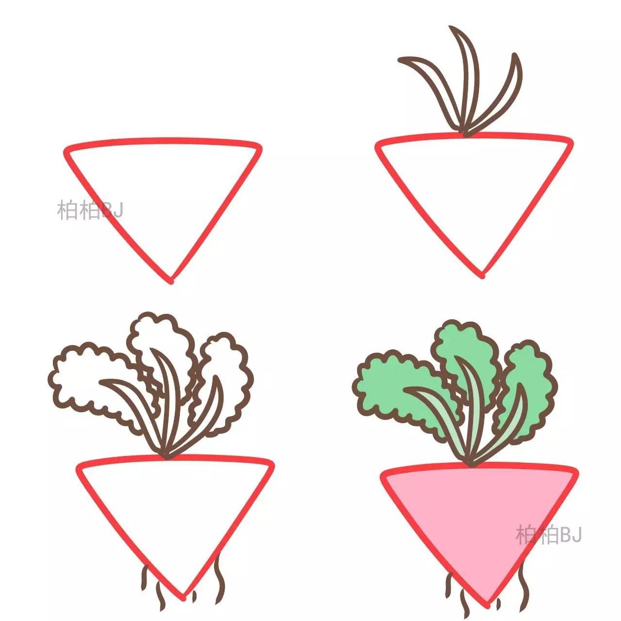 三角形简笔画