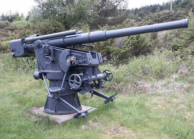 德国88毫米高射炮 二战最强火炮,最出名的是反坦克能力强