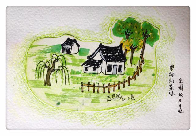 成果一 手绘明信片 把美景画在明信片上, 可以邮寄给家人, 也可以