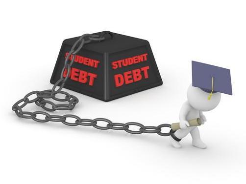 美国年轻人鸭梨山大背负近三分之一消费者债务