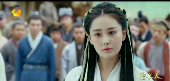 张馨予新剧造型cos刘亦菲,两大美人谁是你的菜 服饰潮流 图1