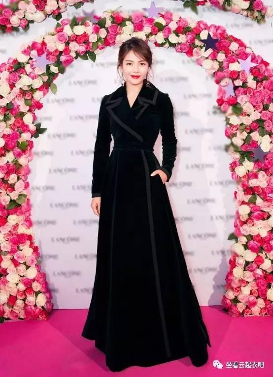 刘涛出席兰蔻晚宴烈焰红唇御姐范 风格偶像 图12