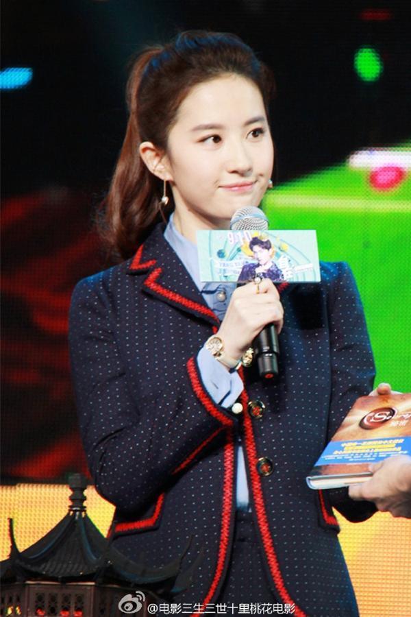 张馨予新剧造型cos刘亦菲,两大美人谁是你的菜 服饰潮流 图10