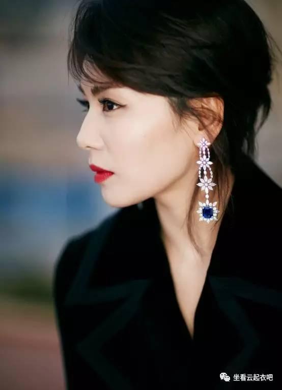 刘涛出席兰蔻晚宴烈焰红唇御姐范 风格偶像 图4