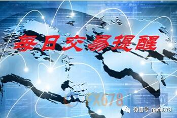 汇通财经日历和交易提醒(5月1日)