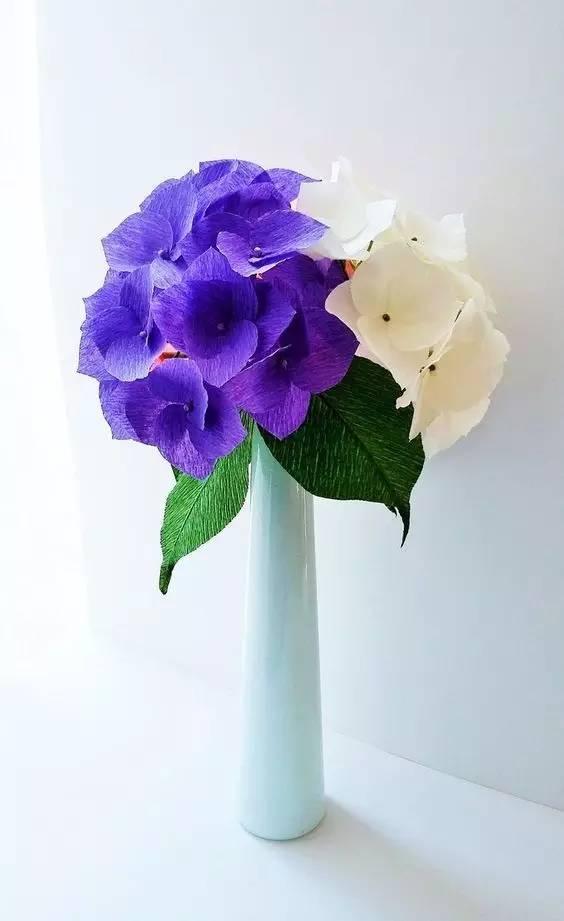 幼儿园皱纹纸手工制作花 吊饰,美爆了!