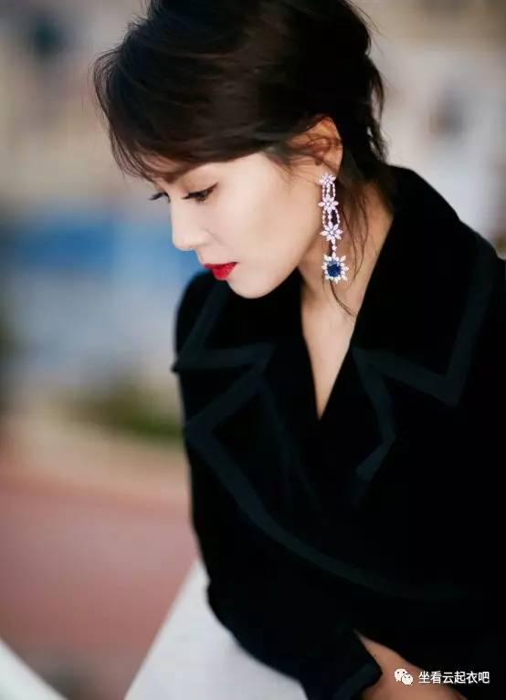 刘涛出席兰蔻晚宴烈焰红唇御姐范 风格偶像 图3