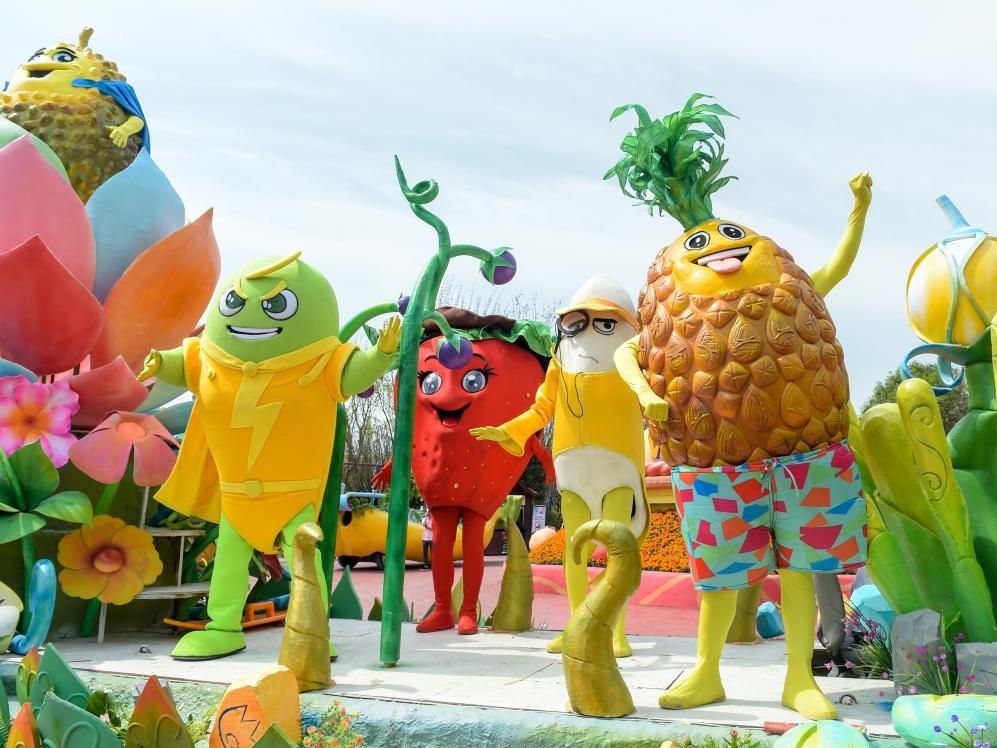 """""""魔法动物森林""""中国原创魔法主题萌宠乐园,汇集了海陆空动物趣味展示图片"""