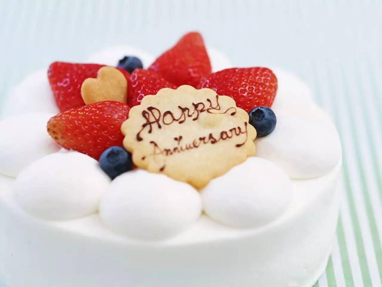 卡通生日蛋糕图片