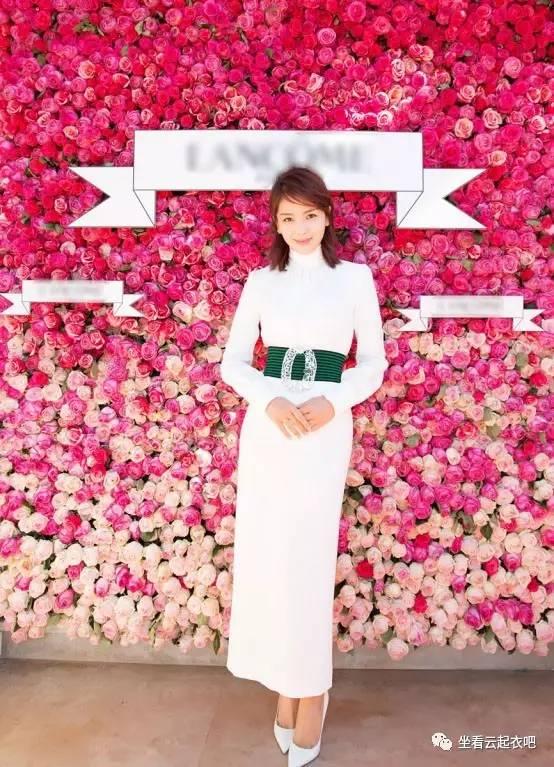 刘涛出席兰蔻晚宴烈焰红唇御姐范 风格偶像 图14
