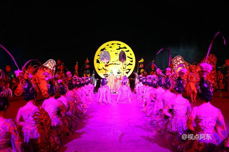 《大唐追梦》实景演出美轮美奂  唐明皇最爱霓裳舞 - 视点阿东 - 视点阿东