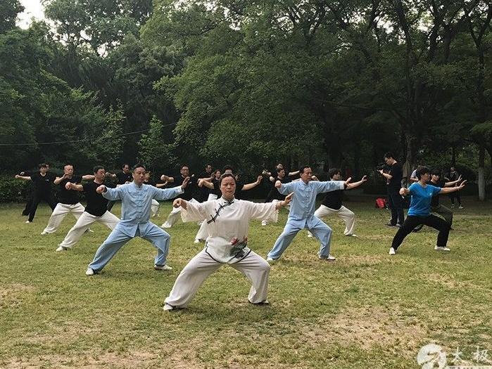陈小旺太极拳总会合肥分会太极缘养生馆新馆落成
