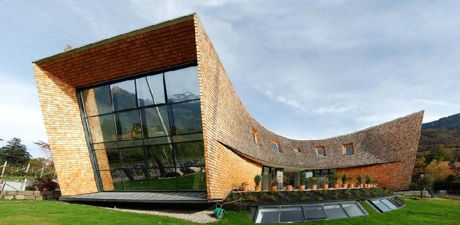 建筑大观 | 现代坡屋顶建筑120例图片