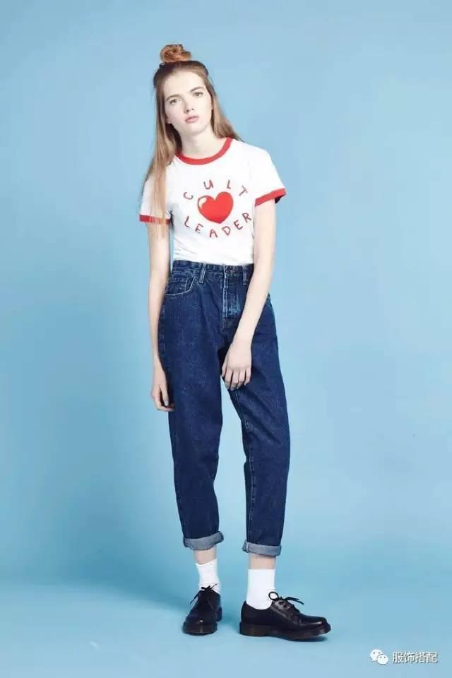 穿衣搭配|经典百搭的短袖T恤+九分裤 时尚潮流 第28张