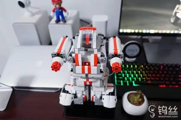 力的双重开发 米兔积木机器人体验
