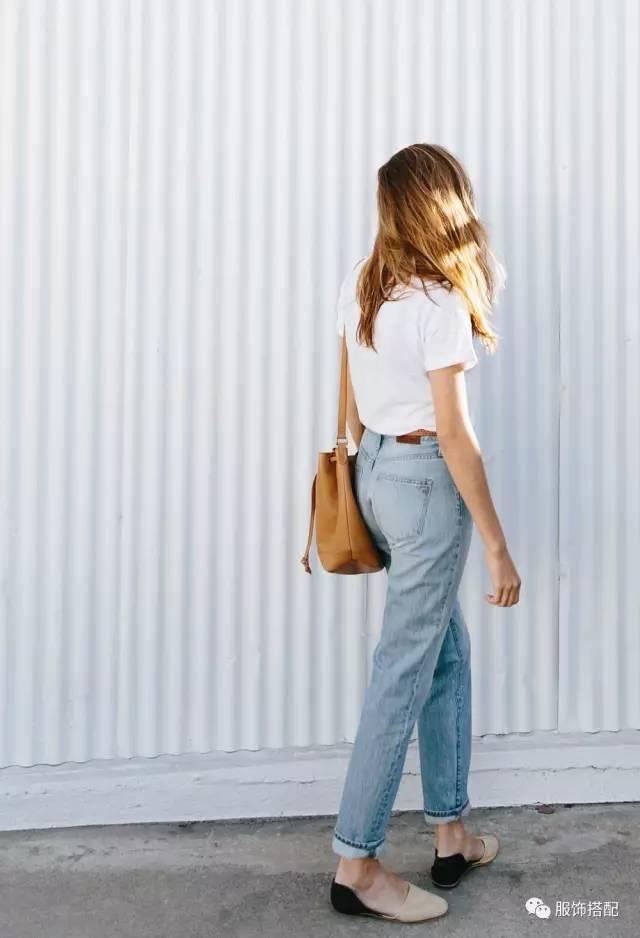 穿衣搭配|经典百搭的短袖T恤+九分裤 时尚潮流 第69张
