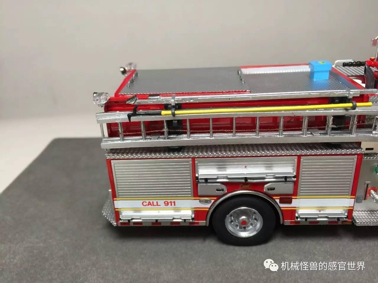 皮尔斯消防车价格_一,2017限量版皮尔斯消防车 sutphen monarch custom engine,限量100