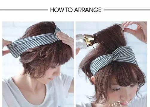 (女生)最普通的,把头巾对折,然后三角朝下,往后扎在脖子上然后是牛仔图片