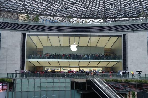苹果营收唯一下滑的中国区,什么原因! 科技资讯