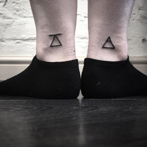 自己跟自己的情侣纹身