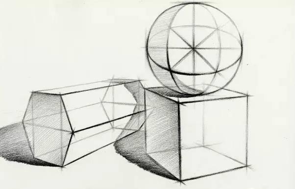 素描入门工具 造型 透视 结构之讲解图片
