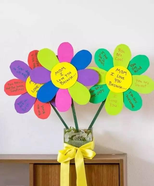 幼儿园亲子手工之贺卡,母亲节不仅要有心意,还要玩出