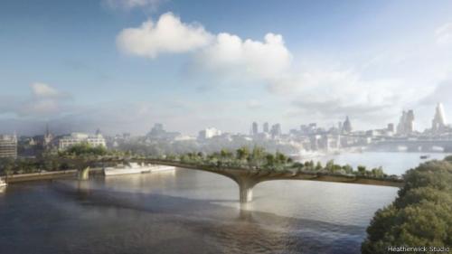 地主家都没余粮了!伦敦市长:花园大桥没钱建不了!