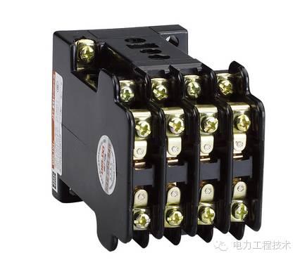 中间继电器实质上是一种电压继电器,结构和工作原理与接触器相同.