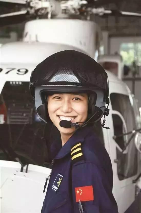 也是果敢,沉稳的搜救机长 她是宋寅, 我国仅有的两名女救助飞行员之