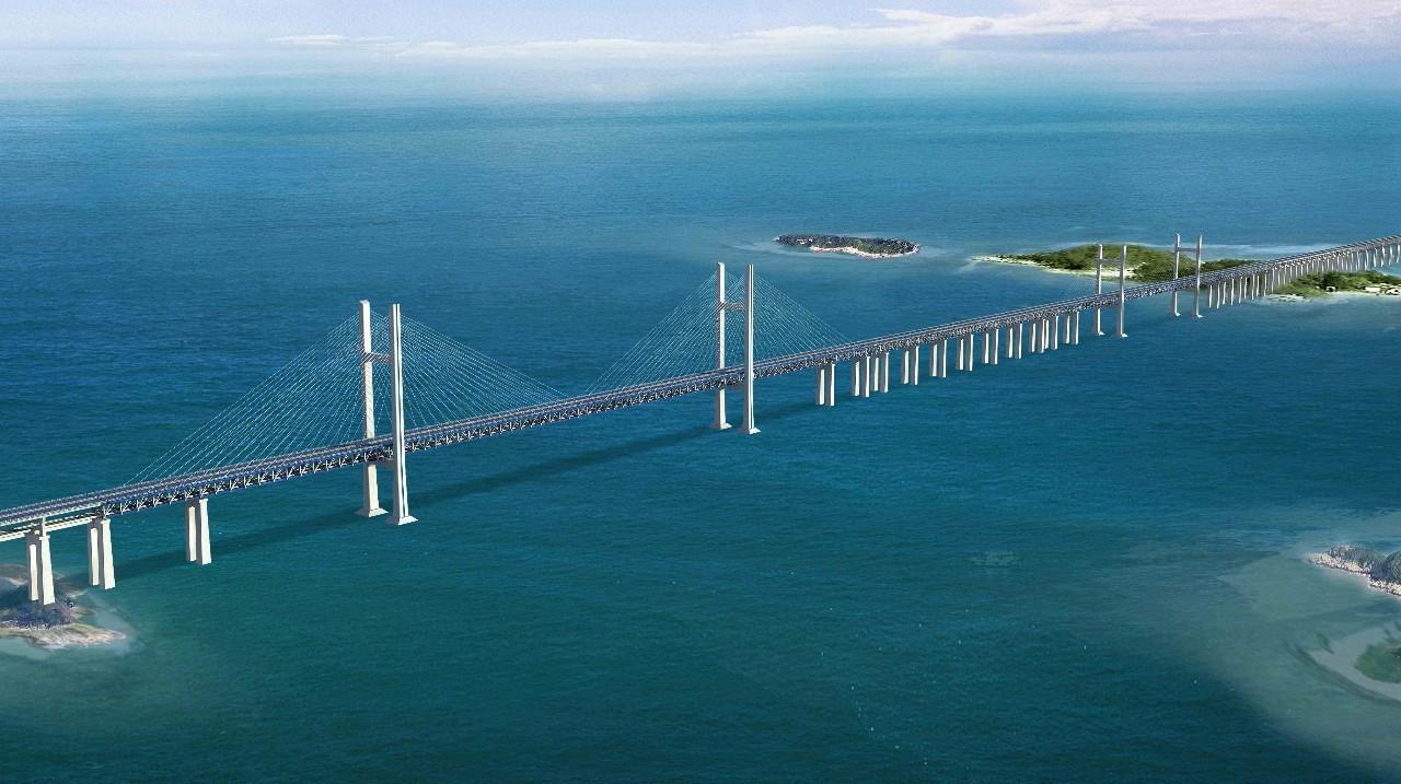 公�:-a:+�_平潭打造中国首座公铁两用跨海大桥!福州平潭\