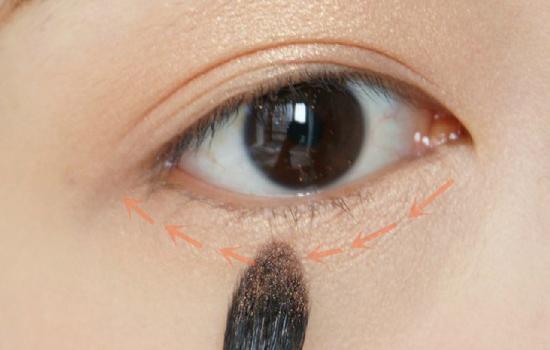 自然裸妆眼妆的画法,教你刘亦菲妆容画法