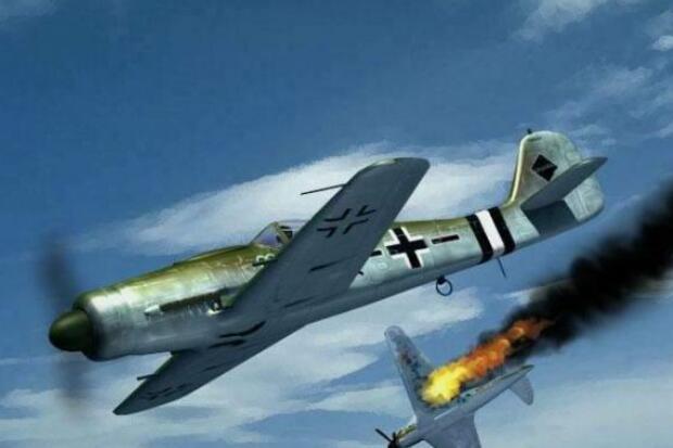 bf-109战斗机二战期间一直是德国空军主力,产量超过3万辆,超过美苏