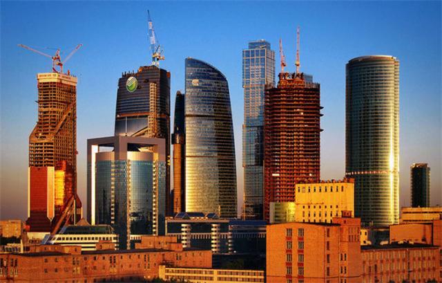 欧洲第一高楼,509米的俄罗斯联邦大厦(中国建的)(www.souid.com)
