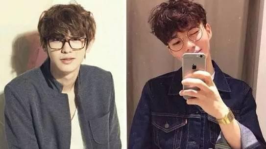戴眼镜的男生适合什么发型?图片