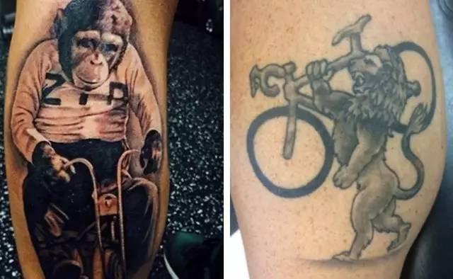 体育 正文  纹身跟随你一辈子 骑士对单车的热爱也是如此 动物篇 如果