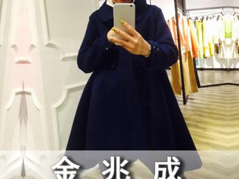 天津品牌折扣女装批发-品牌金兆成秋冬新款图片