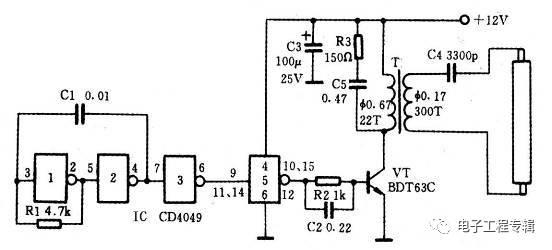 科技 正文  ic选用twh8778型电子开关集成电路,vt选用9015或8550型硅