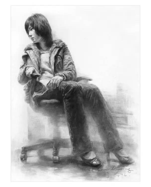 美术基础 韩国人画的人物素描是怎么样的