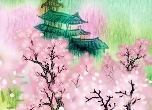 【唐诗欣赏】四月桃花满山红 | 《大林寺桃花》图片