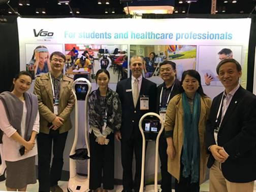 VGo小白远程医疗机器人的应用场景.-ATA年会侧记三 循证研究互