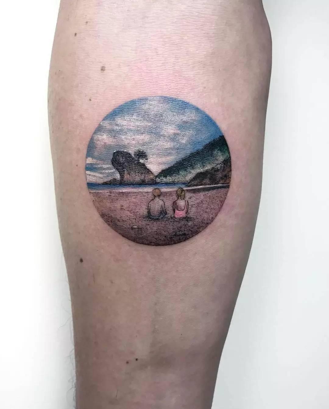 特二电台每日纹身图集 每天超多多多多福利图~ 我是花臂小公主喵子