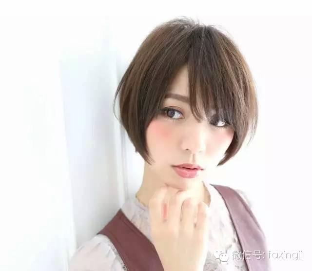 短发剪了超短发,更展现出一种洒脱干净瘦脸美,帅气的女生下颚展中性微收可以发型吗图片
