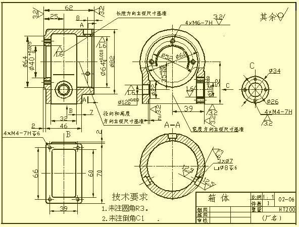 复杂的机械加工图纸,这次全搞懂了!