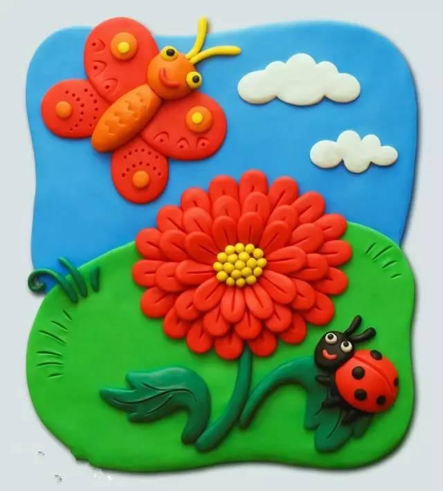 手工小课堂   幼儿园橡皮泥手工制作,含步骤!
